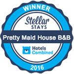 Hotels Combined Award for Pretty Maid House B&B Sevenoaks