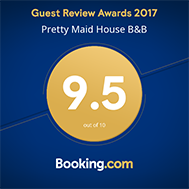 Bookingdotcom Award Pretty Maid House B&B Sevenoaks