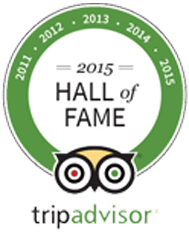 Trip Advisor Hall of Fame 2015 Pretty Maid House B&B Sevenoaks