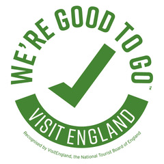 VisitEngland We're Good to Go logo